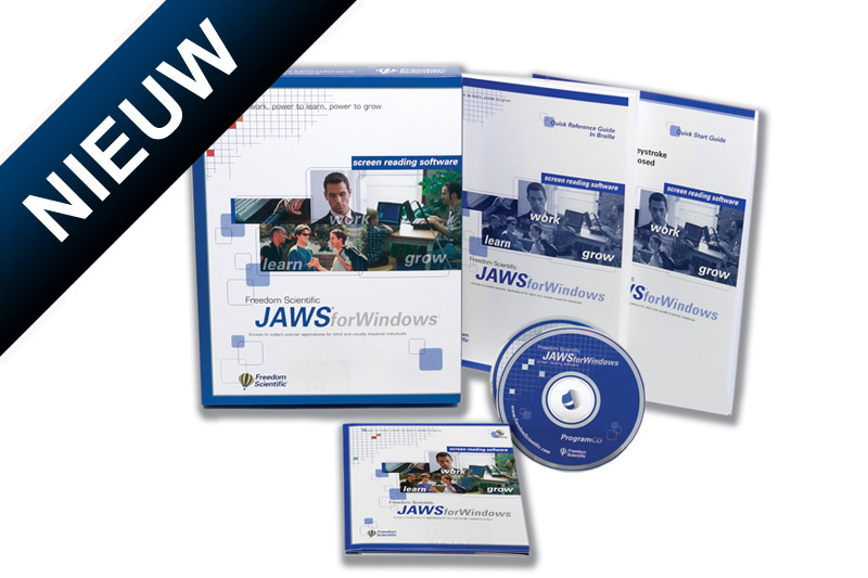 JAWS softwarepakket (spraak/braille)